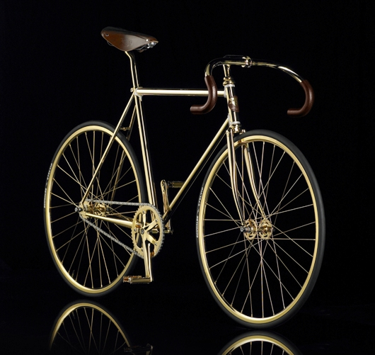 bike in full 45 Golden Bike Worlds Most Expensive!