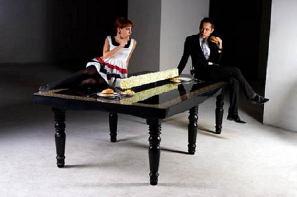 hunn pingpong Enjoy A Ping Pong Of Fun With This Dining Table