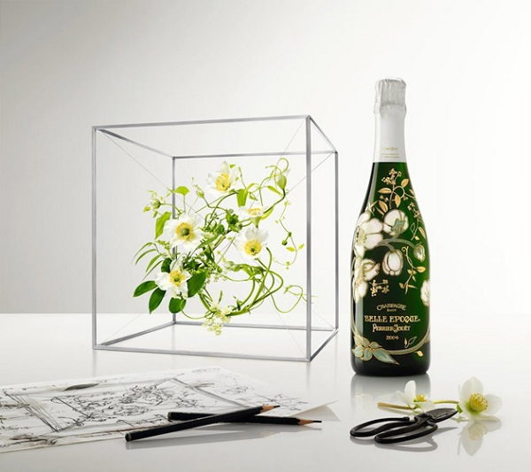 the Perrier Jouët Belle Epoque Florale Edition Perrier Jouët Belle Epoque Florale Edition by Makoto Azuma Unveiled