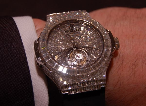 Big Bang watch by Hublot- $1mn