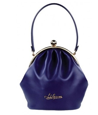 Lulu Guinness Blue Penelope Bag that respects attitude