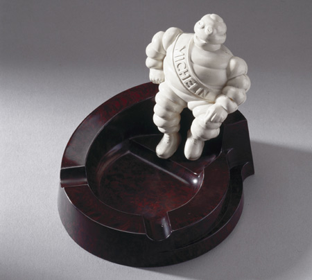 Michelin's Bakelite Ashtray: $235