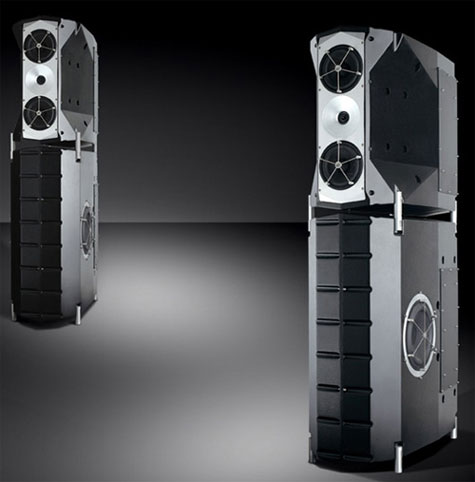 High-Tech Loud speakers by YG Acoustics Voyager