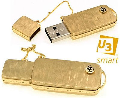 Limited edition U3 Gold Flash Drive