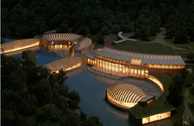 Crystal Bridges Art Museum: Luxury housing beauty