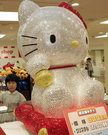 Hello Kitty Hotel In Tokyo. hello kitty doll Hello Kitty