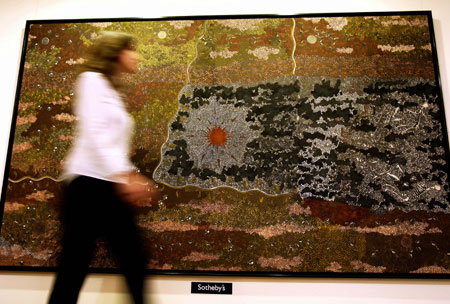 """Warlugulong 1977""- Clifford Possum's painting worth $2.1 million"