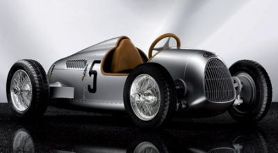 Audi brings world's most expensive Auto Union Type C pedal car for kids
