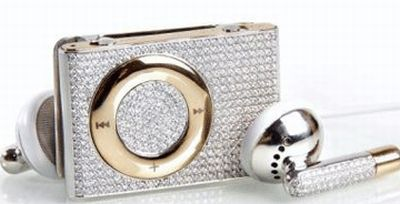 Diamond encrusted ipod