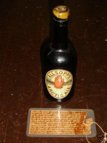 Allsopp's Arctic Ale bottle