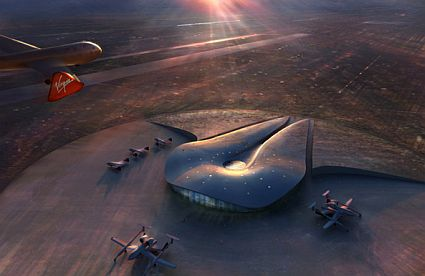World's First Commercial Spaceport, Edifice Begins 2008