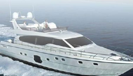 World's First Anti-Sea-Sickness Yacht: The Ferretti