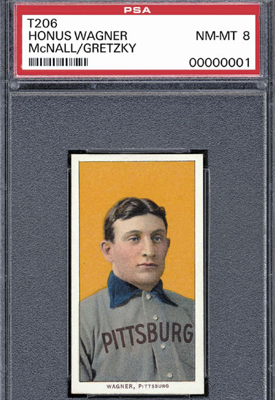 World's Most Expensive Baseball Card: T206 Honus Wagner
