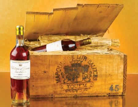 d'Yquem 1945 wine