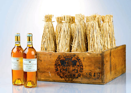 Burglar, Collectors Vie for Fêted Chateau d'Yquem at Zachy's Auction