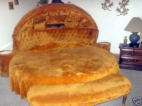 Elvis's Hamburger Bed