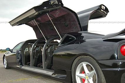 ferrari limo2 Worlds Fastest Limousine is Longest Ferrari: Guinness Book of World Records