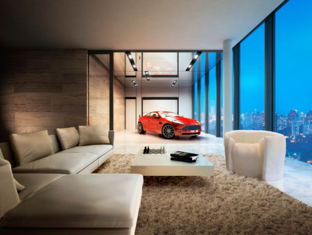 Luxurious Living Room Offers a Living to Your Car @ $663 mn