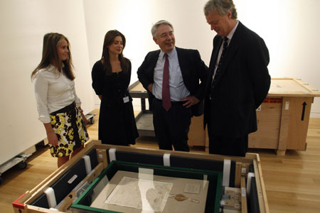 Sale of 710-year-old Magna Carta at Sotheby's in NYC