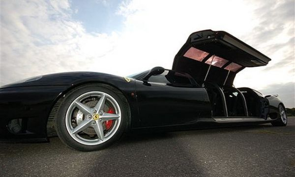 World's Fastest Limousine is Longest Ferrari: Guinness Book of World Records