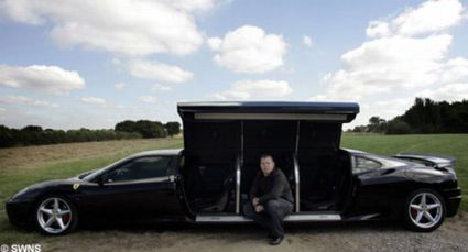 worlde28099s fastest limousine is longest Worlds Fastest Limousine is Longest Ferrari: Guinness Book of World Records