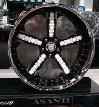 asanti diamond rims Worlds Most Expensive Wheel Rims at $1,000,000
