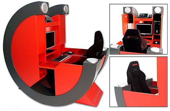 Luxurious Workstation: Battle-Rig Pro For Gamers & Geeks