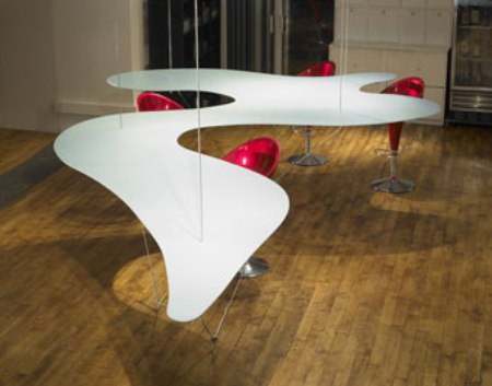 Bernstein Floating Table Fosters Conversation