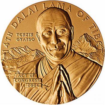 Dalai Lama Gold Medal