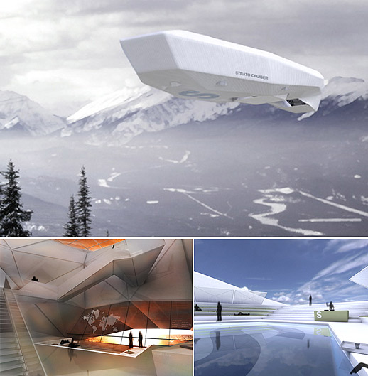 concept plane Strato Cruiser: A Luxurious Flying Palace for Filthy Rich