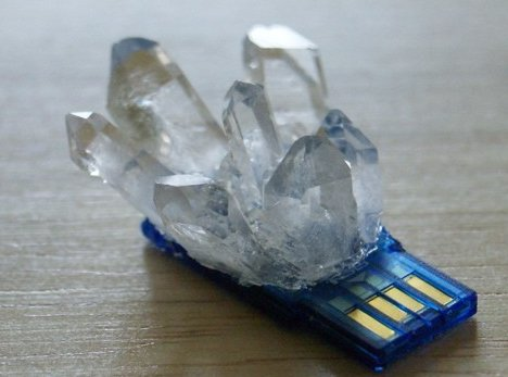 Crystallized USB Flash Drive