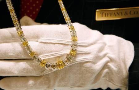 Tiffany's Yellow Emerald-Cut Diamond Necklace for $1.2 mn