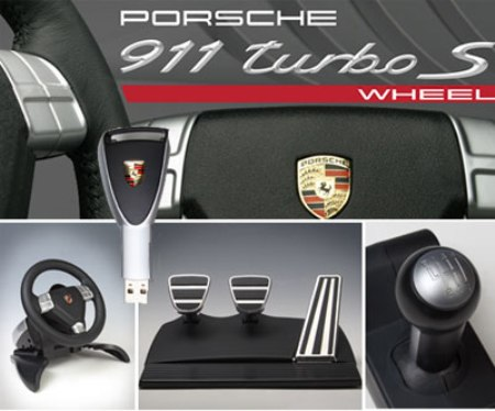 For Rich Gamers: Porsche Replica Racing Wheel by Fanatec