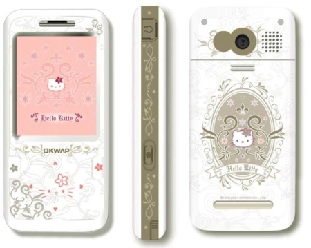 Here Comes Hello Kitty GSM Phone for Taiwan