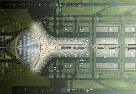 Multi-Billion Dollar Airport: Beijing's Luxury Terminal