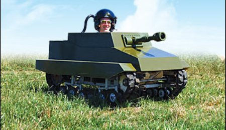 The Paintball Panzer: Never Lose Again