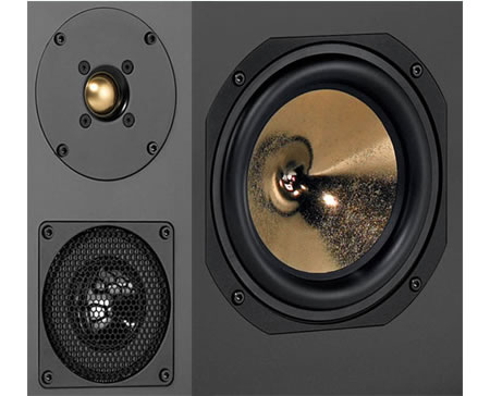 Gold-Diamond Encrusted Polymer Logic Loudspeakers