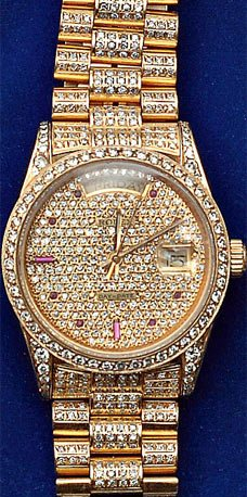 Saddam's Bling Set For Auction
