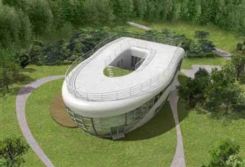 $1.6 mn Toilet-Shaped House