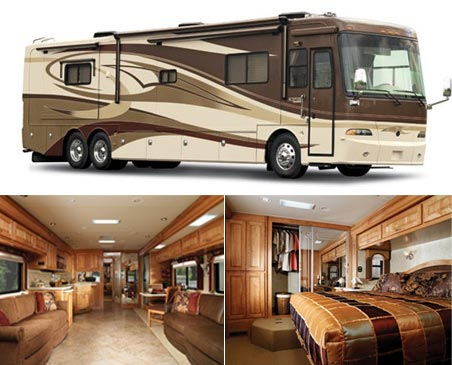Motor Home: 2008 Holiday Rambler Scepter Costs $282,000
