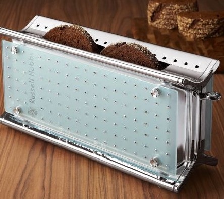 Crystal-Encrusted Toaster