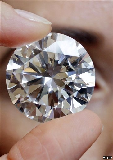 World's Largest D-Color Flawless Diamond at Sotheby's Auction