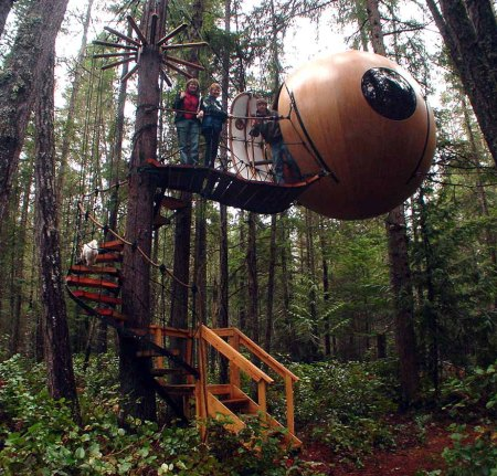 Ink Deal With Ewok-Style Tree Houses
