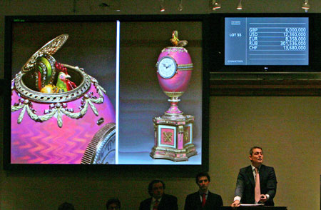 Faberge Egg Sold For $16.5 mn