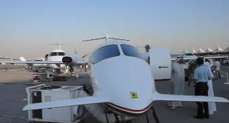 World's Fastest Turboprop Private Aircraft: Ferrari-Branded Avanti II