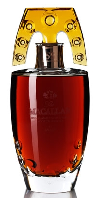Macallan Celebrates 55 Year in Lalique