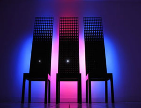 Moritz Waldemeyer Interactive Chairs