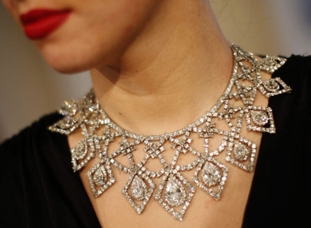 $500,000 Cartier Necklace