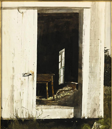 Wyeth's Paintings' Auction To Aid Nonprofits