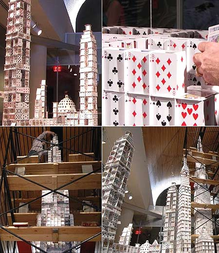 Record Breaking Playing Cards Skyscraper